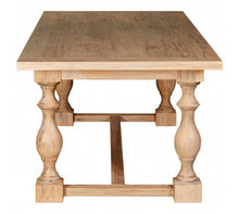 Load image into Gallery viewer, Premier Housewares Lyon Whitewash Dining Table