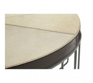Premier Housewares Fifty Five South Leather Coffee Table