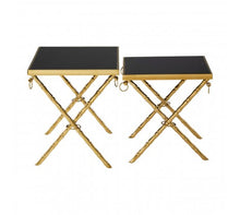 Load image into Gallery viewer, Premier Housewares Arezzo Set Of 2 Nesting Tables