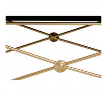 Load image into Gallery viewer, Premier Housewares Monroe Gold Finish Coffee Table