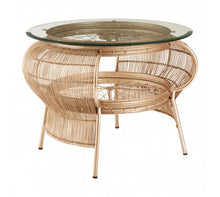 Load image into Gallery viewer, Premier Housewares Mantis Champagne Gold Finish Table
