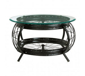 Premier Housewares Mantis Black Finish Coffee Table