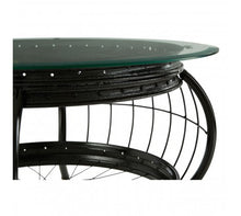 Load image into Gallery viewer, Premier Housewares Mantis Black Finish Coffee Table