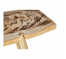 Load image into Gallery viewer, Premier Housewares Relic Petrified Wood Console Table