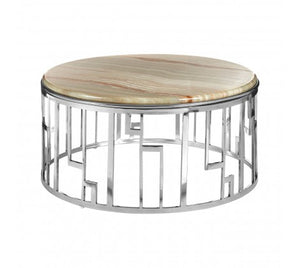 Premier Housewares Relic Onyx Stone Coffee Table