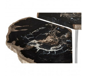 Premier Housewares Relic Light Petrified Wood Coffee Table