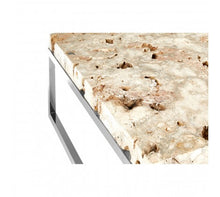 Load image into Gallery viewer, Premier Housewares Relic Coffee Table With Cheese Stone Top