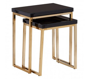 Premier Housewares Kensington Townhouse Set Of 2 Nesting Tables