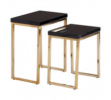 Load image into Gallery viewer, Premier Housewares Kensington Townhouse Set Of 2 Nesting Tables