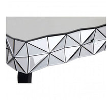 Load image into Gallery viewer, Premier Housewares Soho Silver Coffee Table