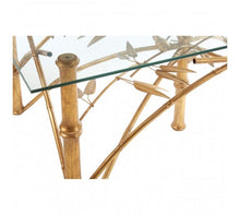 Load image into Gallery viewer, Premier Housewares Zariah Table With Bamboo Design Legs