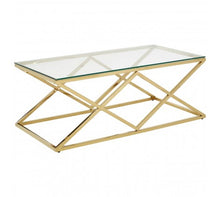Load image into Gallery viewer, Premier Housewares Allure Inverted Prism Base Coffee Table