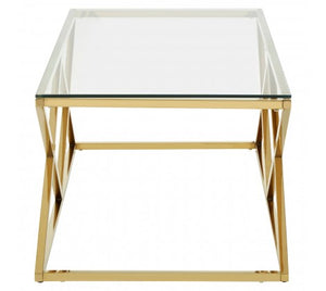Premier Housewares Allure Inverted Prism Base Coffee Table