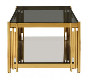 Premier Housewares Allure Linear Design Coffee Table