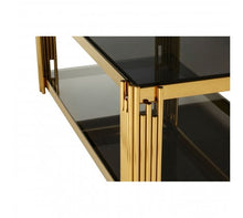 Load image into Gallery viewer, Premier Housewares Allure Linear Design Coffee Table