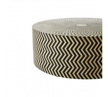 Load image into Gallery viewer, Premier Housewares Fusion Buffalo Bone Round Coffee Table