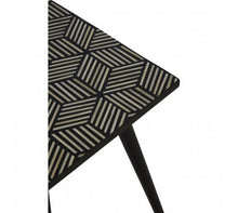 Load image into Gallery viewer, Premier Housewares Textured Side Table With Angular Base