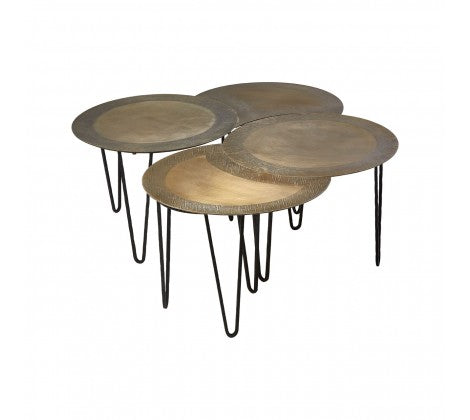Premier Housewares Rany Set Of 4 Coffee Tables