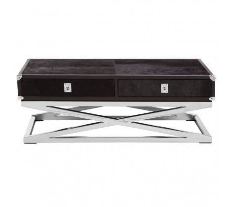 Premier Housewares Kensington Townhouse Cross Base Coffee Table