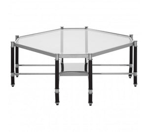 Premier Housewares Allessi Silver Chrome Coffee Table