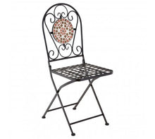 Load image into Gallery viewer, Premier Housewares Amalfi Terracotta/Brown Mosaic Table Set