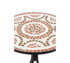 Premier Housewares Amalfi Terracotta/Brown Mosaic Table Set