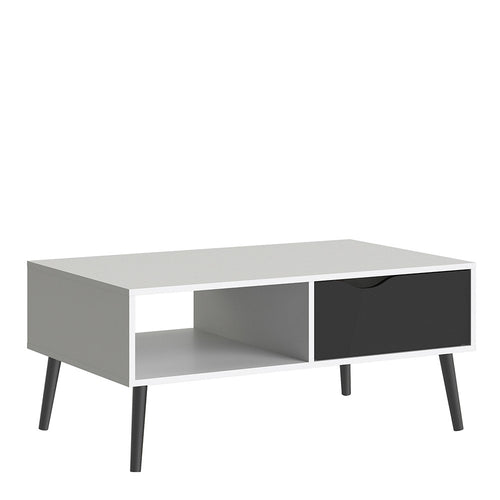 Furniture To Go Oslo Coffee Table 1 Drawer 1 Shelf