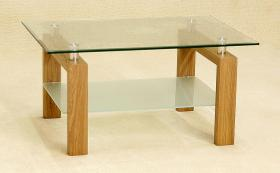 Heartlands Furniture Adina Coffee Table Oak - kudo Lounge