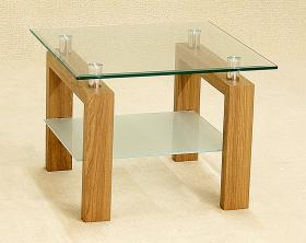 Heartlands Furniture Adina Lamp Table Oak - kudo Lounge