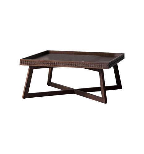Gallery Direct Mango Wood Boho Retreat Coffee Table Mixed Timber Veneers - kudo Lounge