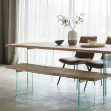Load image into Gallery viewer, Gallery Direct Ferndale Dining Table Wooden Industrial Chic Finish - kudo Lounge