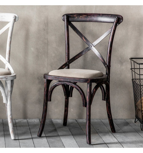 Gallery Direct Café Chair Black (2pk) - kudo Lounge