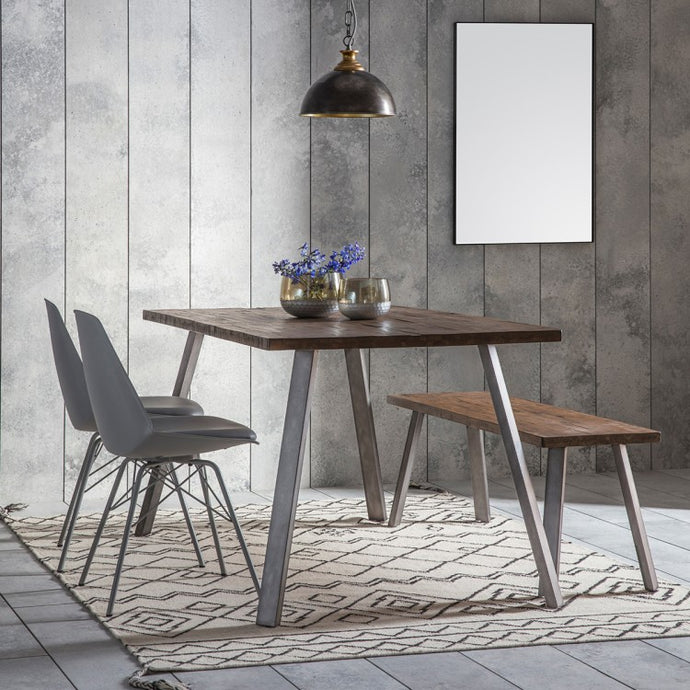 Gallery Direct Camden Rectangle Dining Table Rustic - kudo Lounge