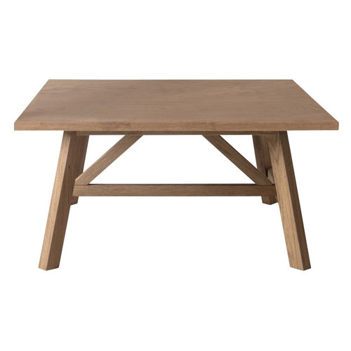 Gallery Direct Clapham Square Coffee Table Solid Oak - kudo Lounge