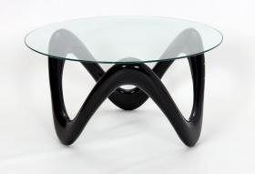 Heartlands Furniture Lamar Coffee Table With Glass Top
