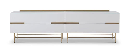 Gillmore ALBERTO FOUR DRAWER LOW SIDEBOARD - kudo Lounge
