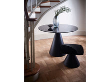 Load image into Gallery viewer, Gillmore Oscar Square Marble Top Black Frame Side Table