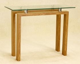 Heartlands Furniture Adina Console Table Oak - kudo Lounge