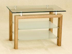 Heartlands Furniture Adina TV Bench Oak - kudo Lounge