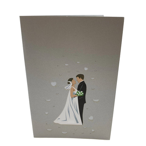 Wedding Day 3d pop up card