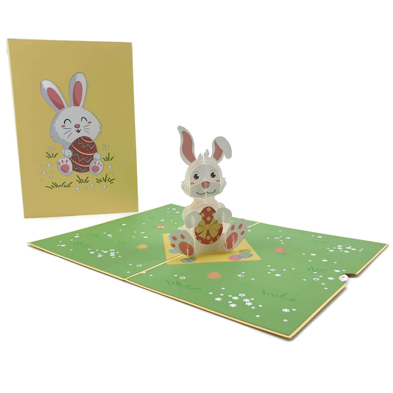 Easter Bunny 3d pop up card