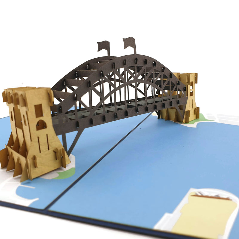 Sydney Harbour Bridge 3d pop up card