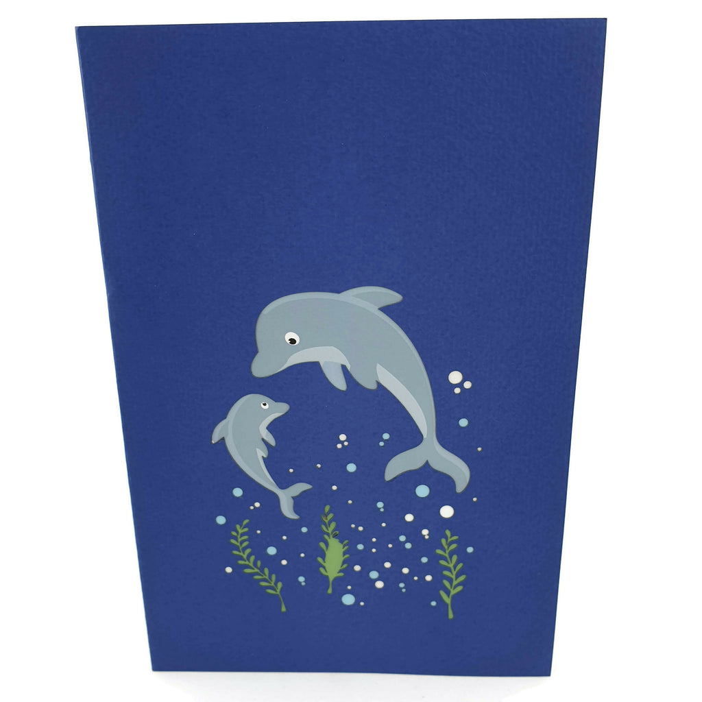 Dolphins 3d Pop Up Card