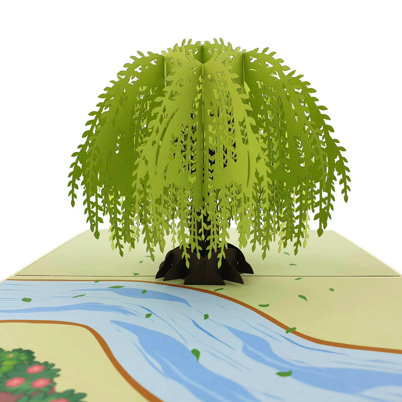 Willow Tree 3d pop up card