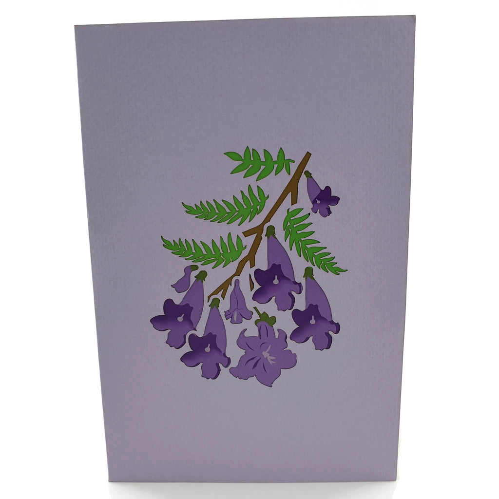 Jacaranda Tree 3d Pop Up Card