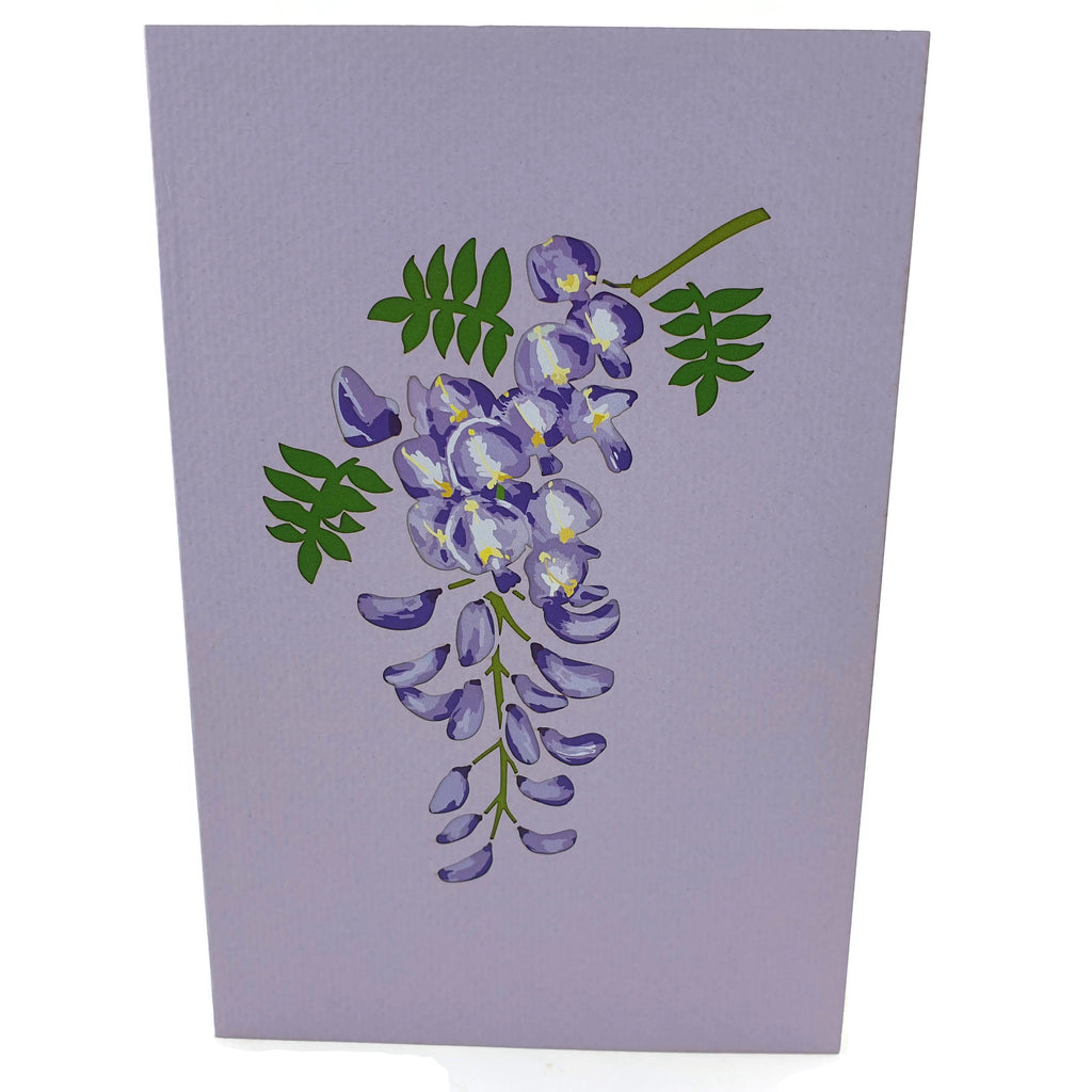 Wisteria Tree 3d Pop Up Card