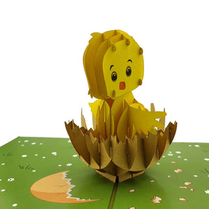 Easter Chick 3d pop up card