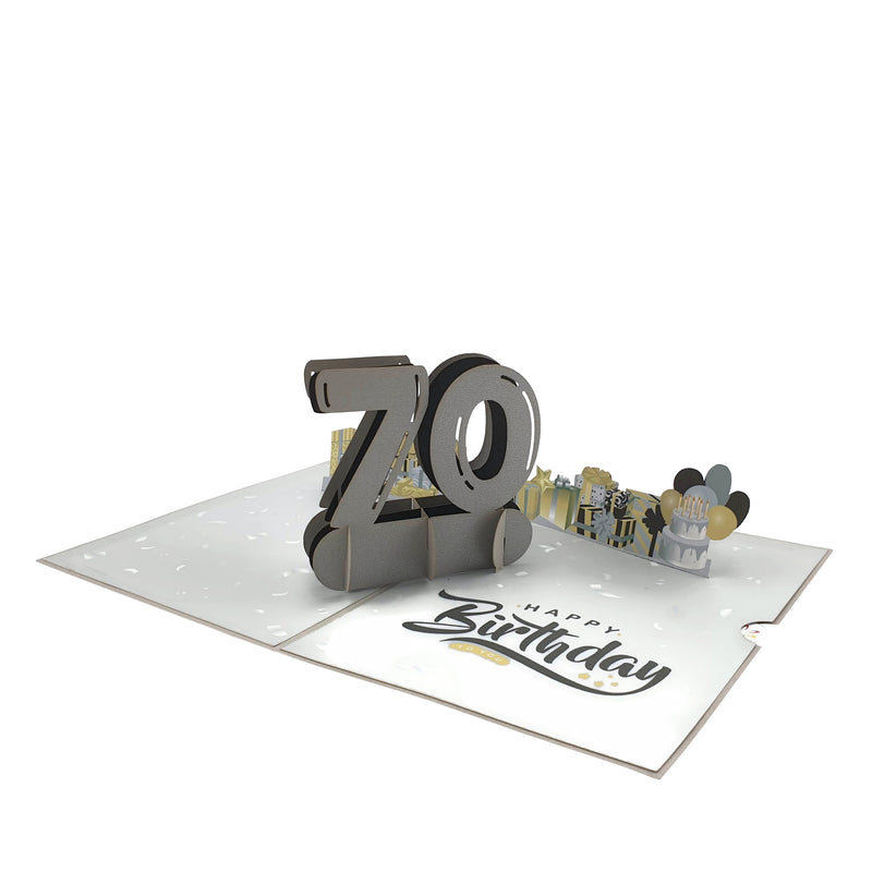 Beautiful70thBirthdayPopUpCard-Details