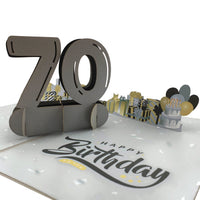 Happy70thBirthday3dPopUpCard-Details