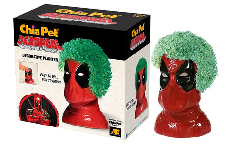 Chia Pet Deadpool - Marvel, Decorative Pottery Planter